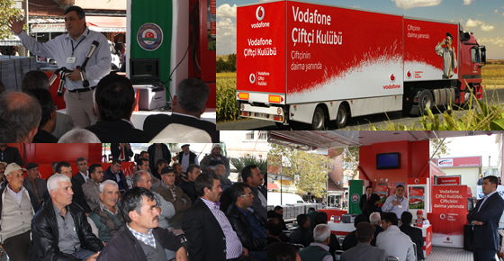 Longest Activity of World's Roadshow History - - Vodafone Farmers Club Training Truck- Vodafone